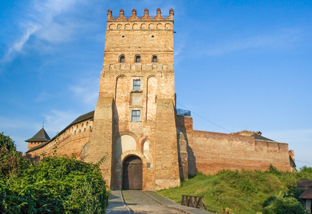 recognized: Lutsk High Castle, also known as Lubarts Castle (the mid-14th century) -  the most  recognized landmark of Lutsk city and one of the most important castle in  Ukraine Editorial
