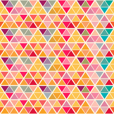 saturated: Geometric pattern with saturated colorful triangles. All colors of  rainbow. Eps 10. Endless texture can be used for wallpaper, web background, wrapping, packaging etc.