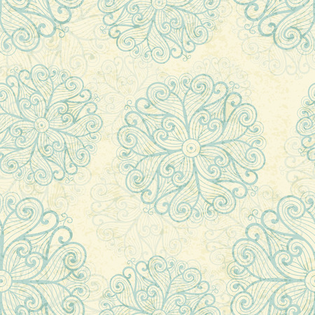 sea green: Seamless pattern with sea green snowflakes a off-white background. Pastel color palette. Stylish texture for consumer industry design, interior decoration etc