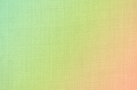 fabric textures: Gradient green orange color with cotton fabric pattern abstract backgrounds textures