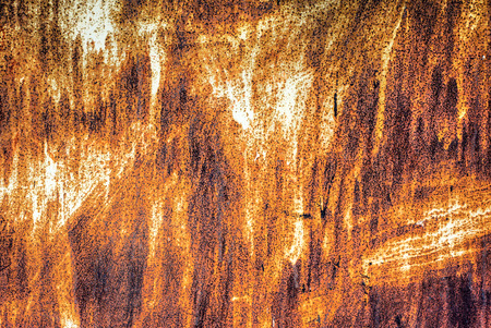 oxidized: Texture, industrial rusty metal background Stock Photo