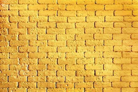 background gold brick wall with shimmer texture