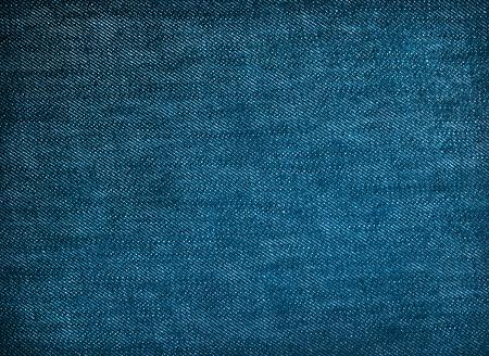 denim fabric: dark blue denim fabric texture for background Stock Photo