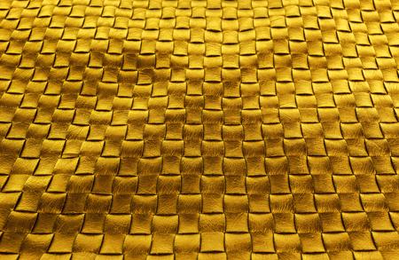 diamond texture: gold braided leather diamond texture background