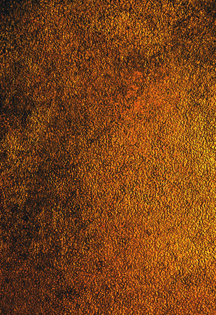 multi layered effect: antique bronze. relief, rich bronze texture for background Stock Photo