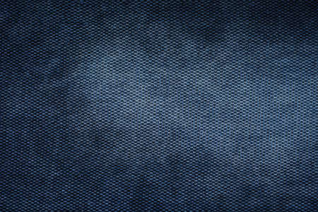 Burlap close-up, texture of old jeans, tablecloth background