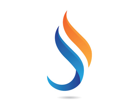 flames icon: S lame Logo Illustration