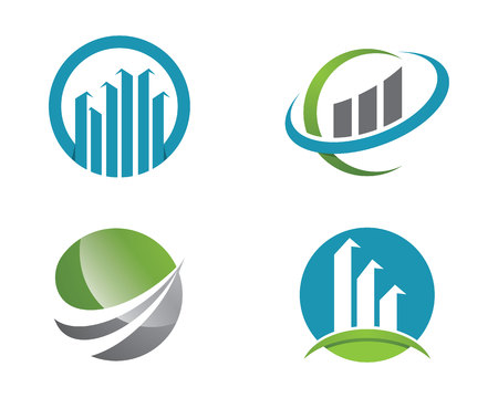 Finance icon Template