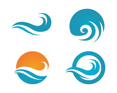 Wave icon Template