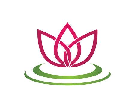 symbolic woman: Lotus Flower