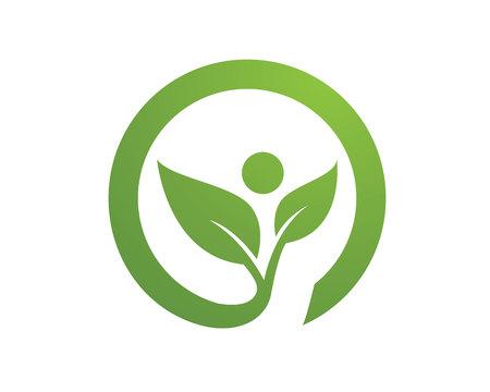 Family care protection love concept symbol icon logo design template Çizim