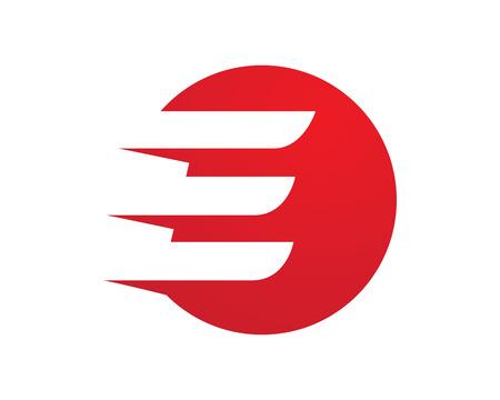 E Lette Logo 비즈니스 금융 전문 로고 템플릿