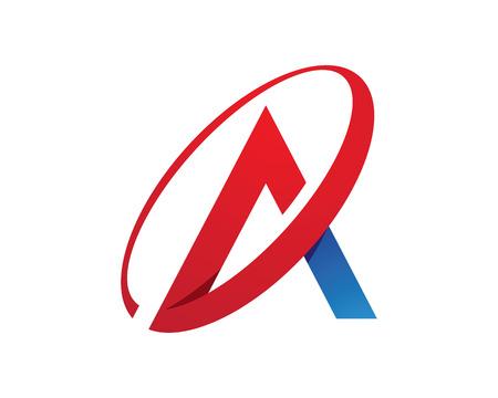 Une lettre Logo Template Banque d'images - 47787378