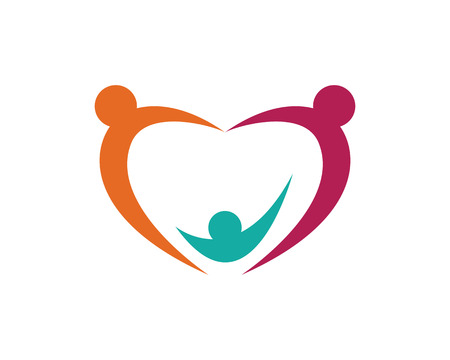 to care: Community Care Logo Vector Concept Engagement, Togetherness