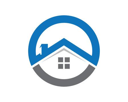 property: Property Logo Template Illustration
