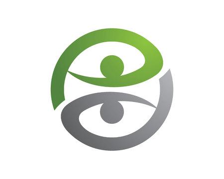 logo medicina: Saludable Logo Vida
