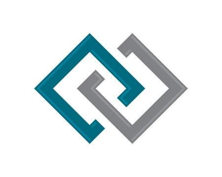 building lot: Property Logo Template Illustration