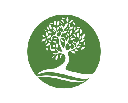 Eco Tree Logo Template Stockfoto - 48364089