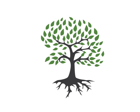 tree logo: Eco Tree Logo Template