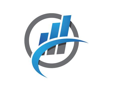 Finanza logo modello professionale Archivio Fotografico - 48745172