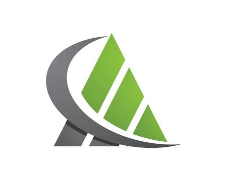 logo batiment: Business Finance professionnelle modèle de logo