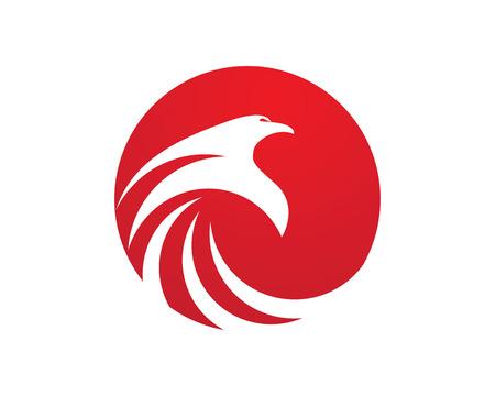 Falcon icon Template