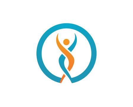 Plantilla Logo Vida Saludable Logos