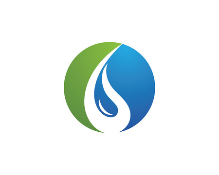 water s: Water Wave Icon Logo Template