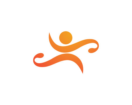 rehab: Healthy Life Logo Template