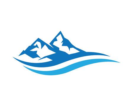 everest: Mountains Logo Template