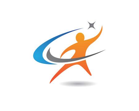 Plantilla Logo Vida Saludable