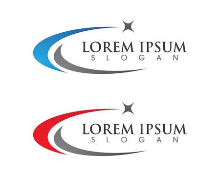 Star Logo Template Vettoriali