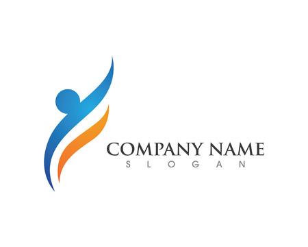 Gezonde Template Logo Logo