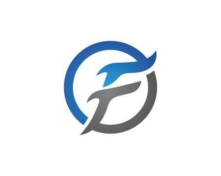 F letter Logo Template Stok Fotoğraf - 59654899