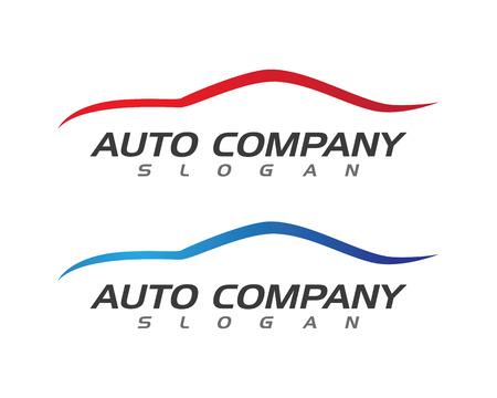 Auto Auto-Logo-Vorlage Standard-Bild - 59655023