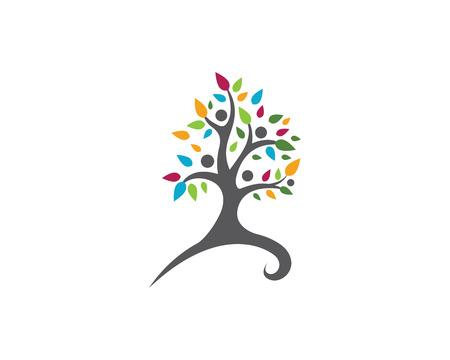 Öko-Baum-Logo-Vorlage