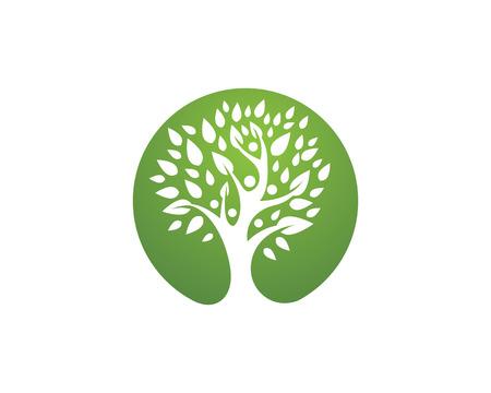 Eco Arbre Logo Template