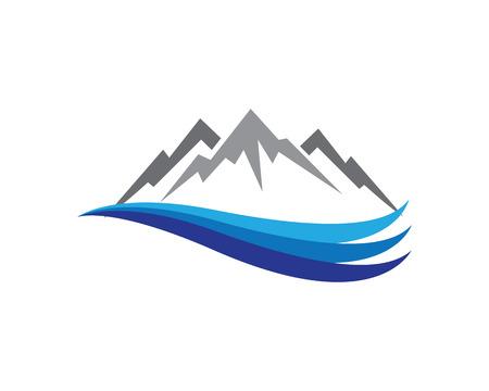 Montagne Logo Template Logo