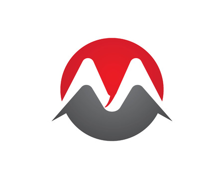 m hotel: M Letter Logo Template