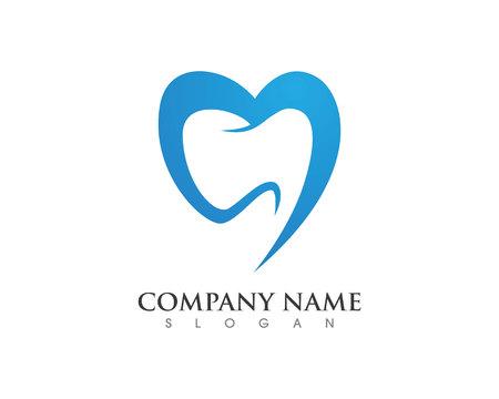 Dental logo Template Logó