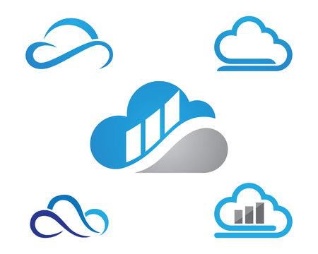 cloud Logo Template