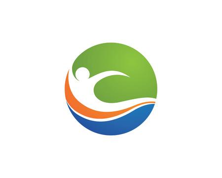 rehab: Health Template vector icon design Illustration