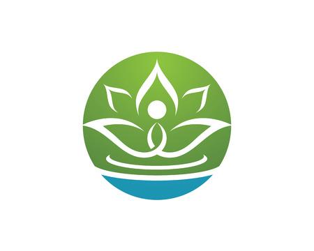 Beauty Vector lotus flowers design Template