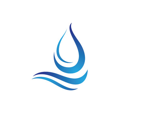 water wave: Water wave Template Illustration