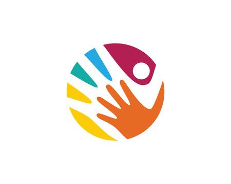 care: Hand Care Logo Template