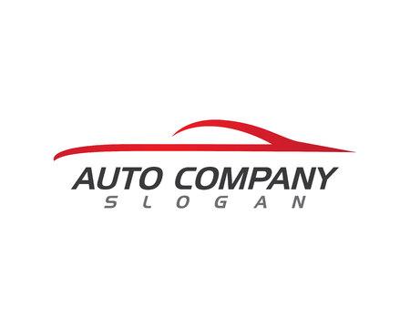 Auto Auto-Logo-Vorlage Standard-Bild - 62124071