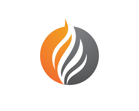 flame: Fire flame Logo Template