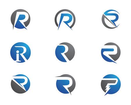 Business Finance professional logo template vector icon Illusztráció