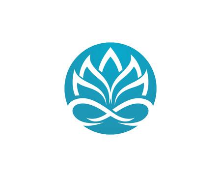 desig: Beauty Vector Lotus flowers desig Template icon