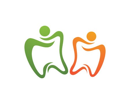 Dental Template vector illustration icon design